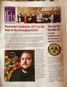 Jason Williamson Is Featured In Pocono Arts Councils Magazine